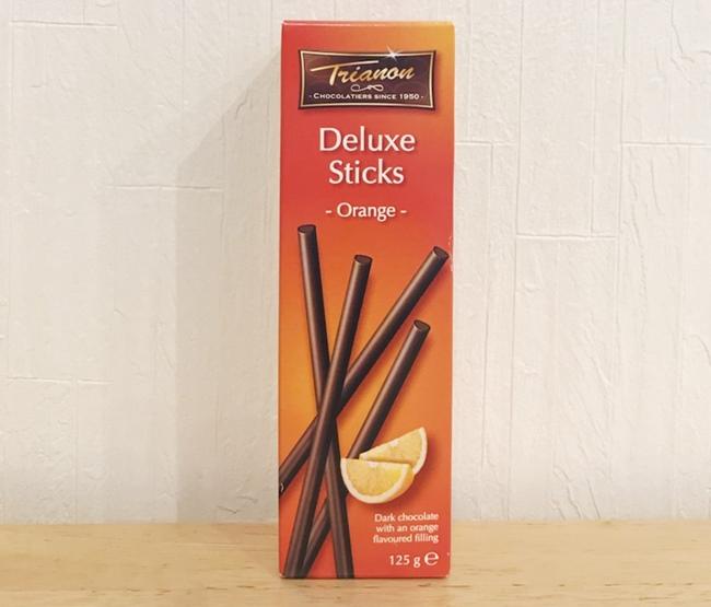 カルディのトリアノン スティックチョコレート ダークオレンジ