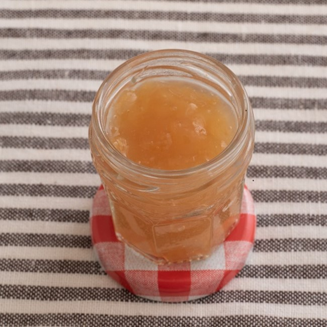 【離乳食初期】とろりすりおろしりんご