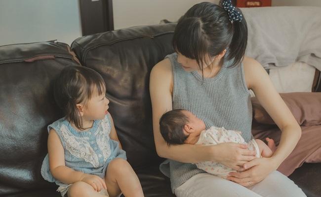 新生児のいる生活