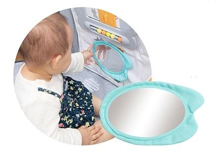 日本育児のトイパネルの鏡のおもちゃ