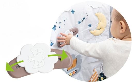 日本育児のトイパネルのしかけ