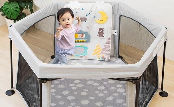 日本育児のソフトトイパネル
