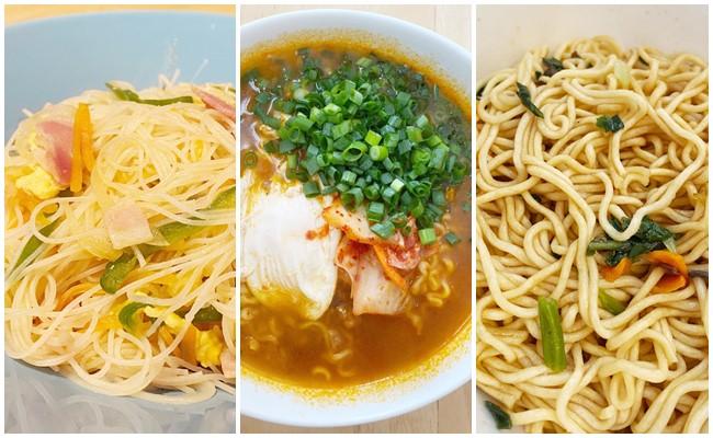カルディの麺3選
