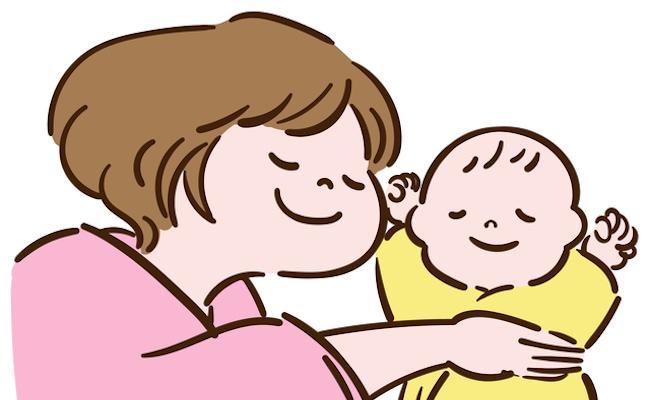 産後1カ月のママと赤ちゃんのイメージ