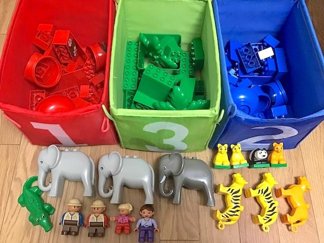 1〜2歳児が喜ぶテッパンおもちゃ「レゴブロック」