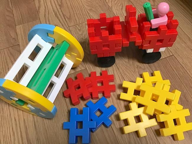 1〜2歳児が喜ぶテッパンおもちゃ「学研 ニューブロック」