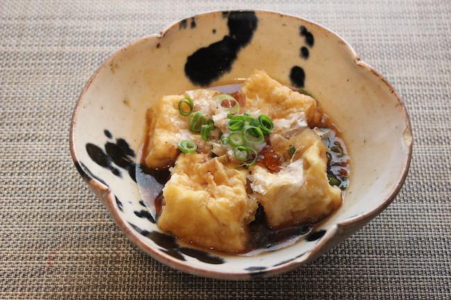 ファミリーマートの揚げだし豆腐