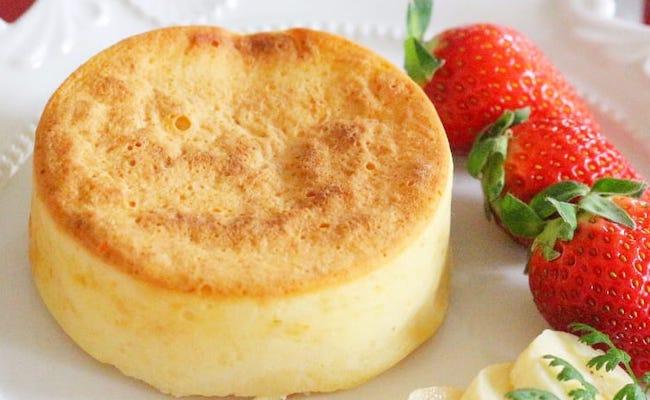 【離乳食後期】ヨーグルト入り厚焼きパンケーキ
