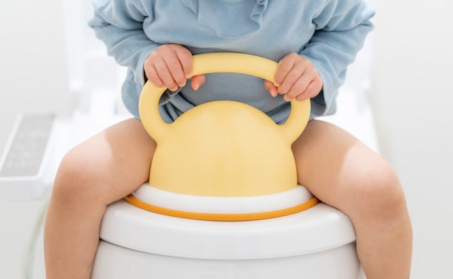 おむつはずれ・トイレトレーニングのイメージ
