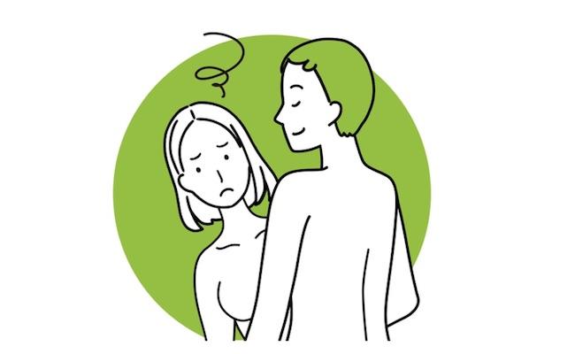 産後の性生活、性行為のイメージ