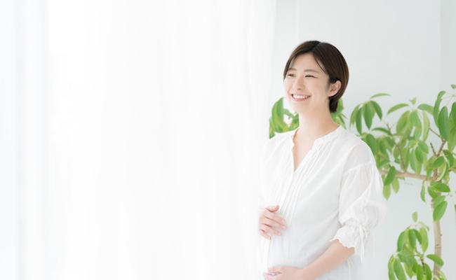 妊娠中・臨月の妊婦のイメージ
