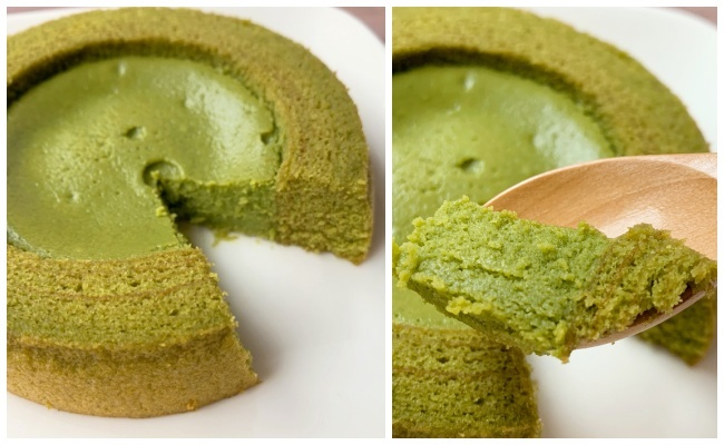 ファミマ「旨み抹茶チーズケーキのバウム」