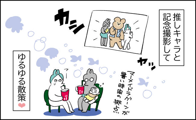 祝バースデー!夢の国へレッツゴー【んぎぃちゃんカレンダー147】