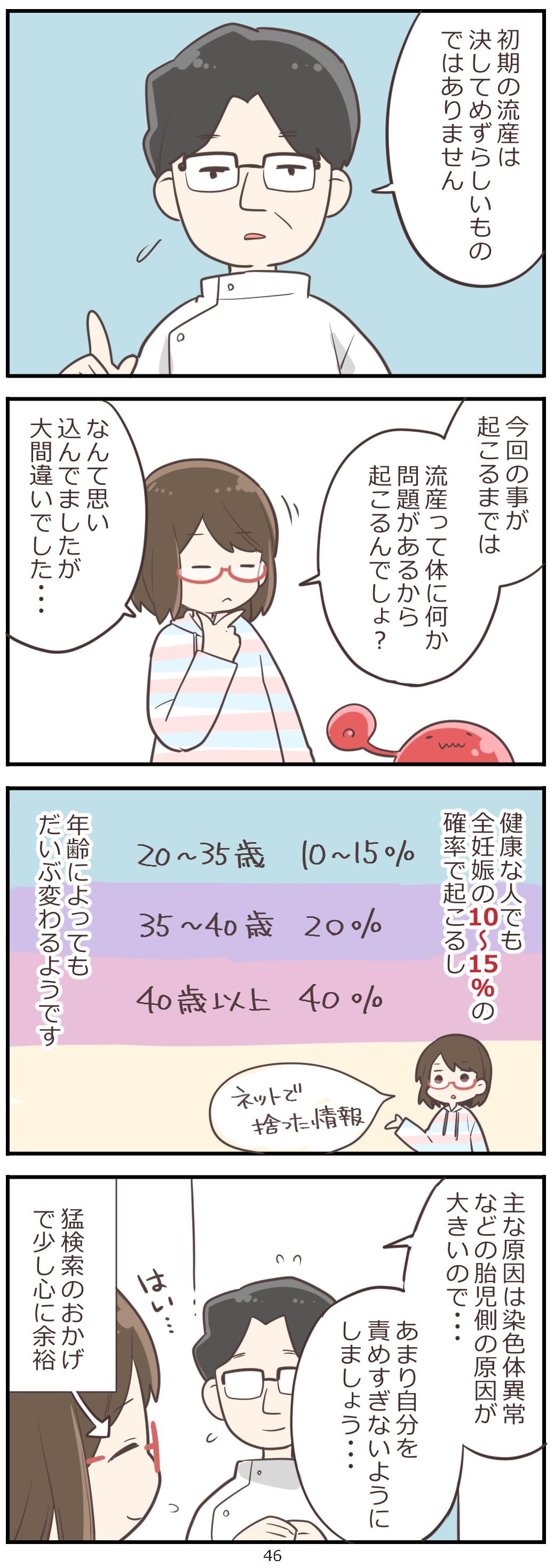 「妊活レベル1 まっふの冒険記」第46話