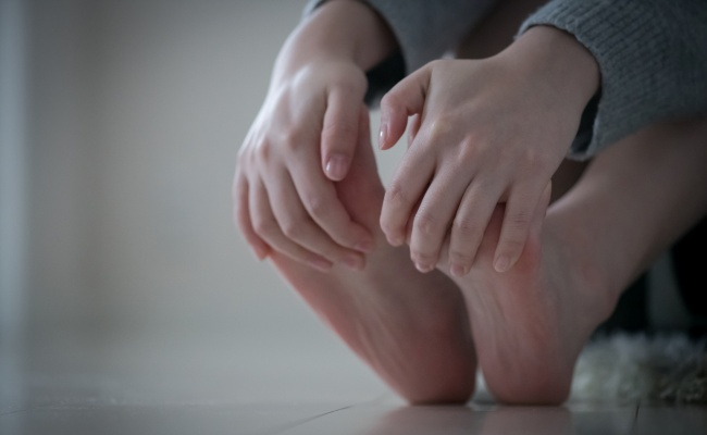 女性 足のむくみ
