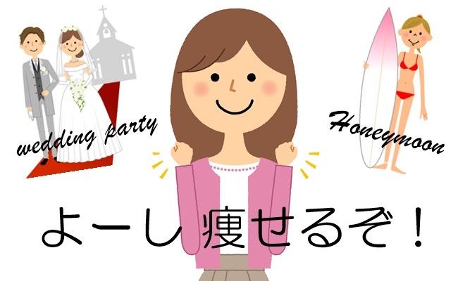 目指せスリムな結婚式&新婚旅行【生理体験談】