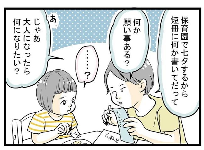 2歳児の願い事