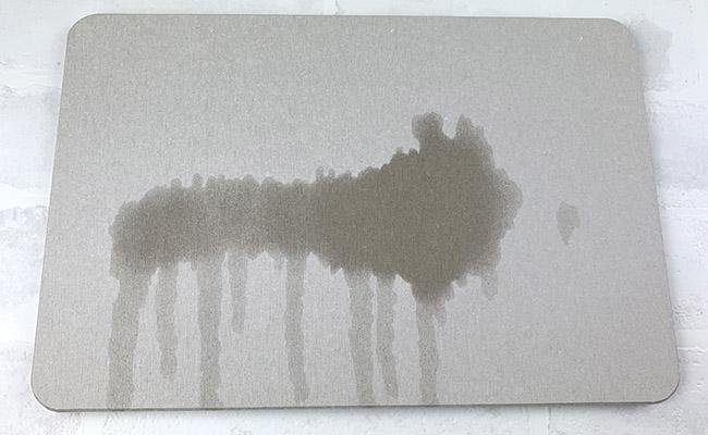 水切り珪藻土マット
