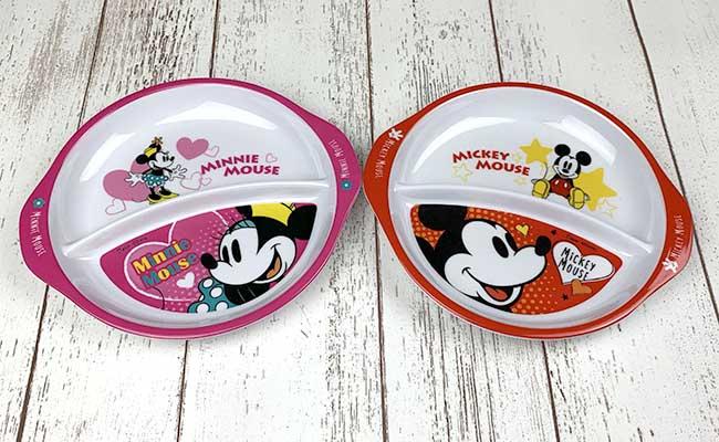 ディズニーセパレート皿