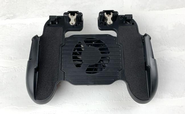 スマホ用冷却ファン搭載コントローラー&スタンド
