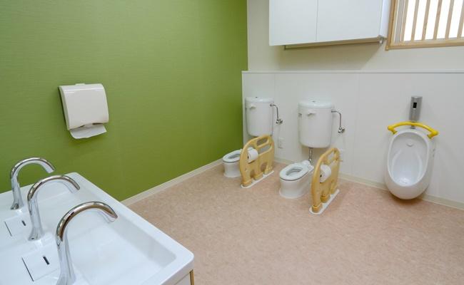 保育園のトイレ