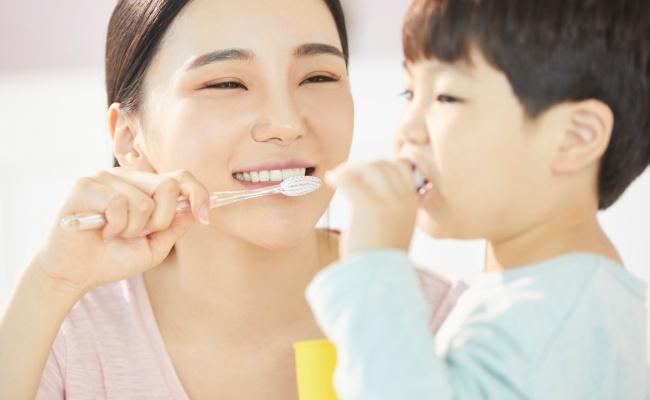 親子 歯磨き