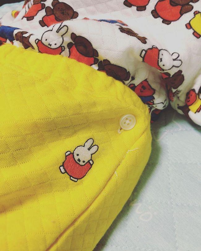 ユニクロ キルトパジャマ うさこちゃんのだんす