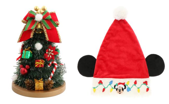 東京ディズニーランド・シーのクリスマスグッズ