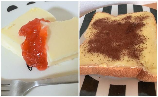 業務スーパー チーズケーキアレンジ