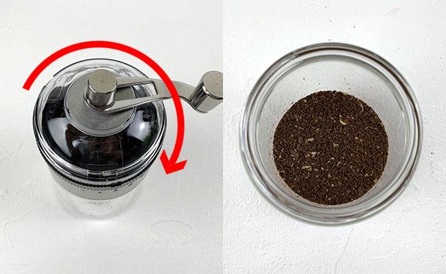 ダイソー手挽きコーヒーミル