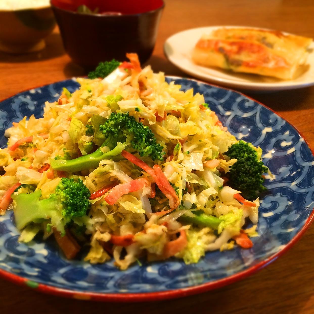 白菜サラダの画像