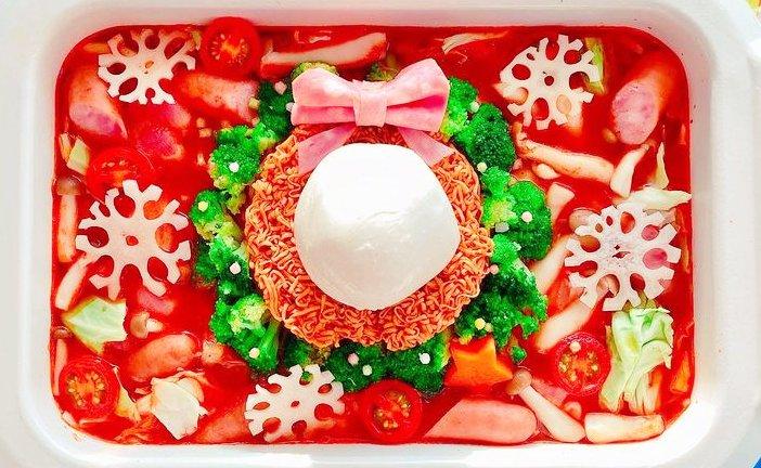 クリスマス鍋1