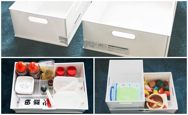 【ニトリ】激売れNインボックス!仕切り板と使うと使い勝手が最高な件!