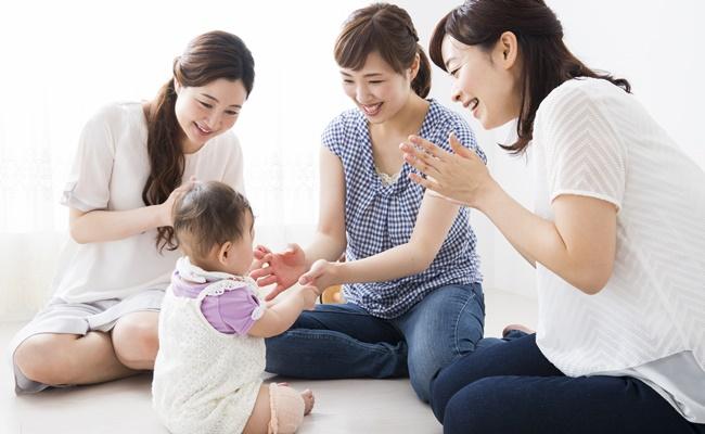 ママ友と赤ちゃん