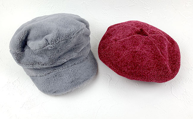 ダイソーファー帽子
