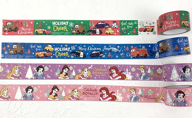 ディズニークリスマスマスキングテープ