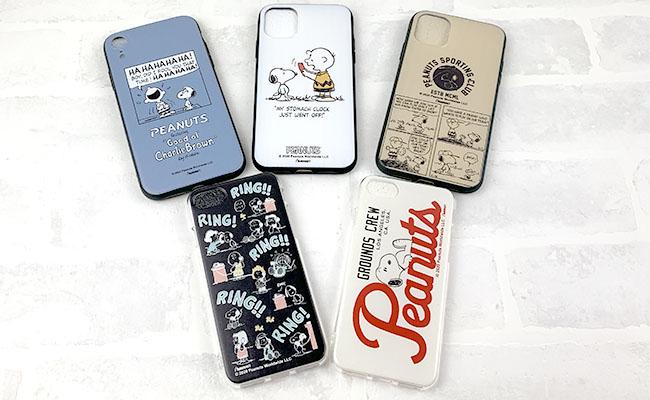 キャンドゥスヌーピーiPhoneケース