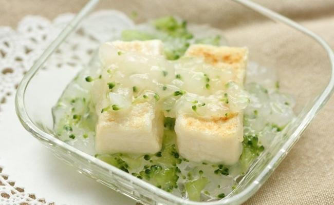 【離乳食後期】豆腐ステーキの大根みぞれあん