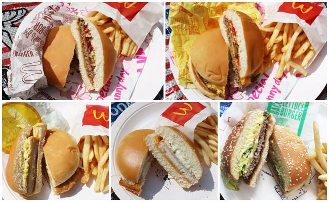 【マクドナルド】一番低カロリーなのはどれ?ハンバーガーTOP5