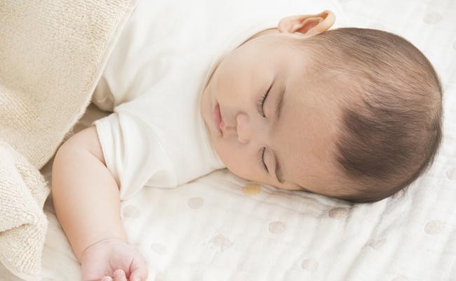 眠る赤ちゃんのイメージ