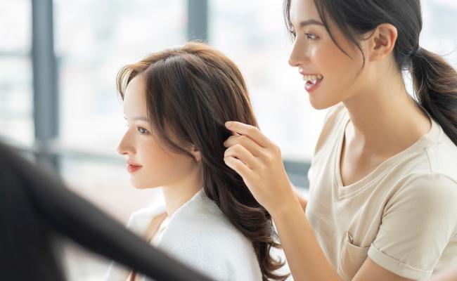 美容師との会話