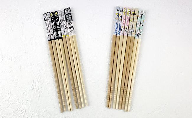 スヌーピーお箸4膳セット