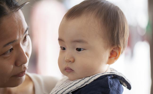 赤ちゃんのしつけのイメージ
