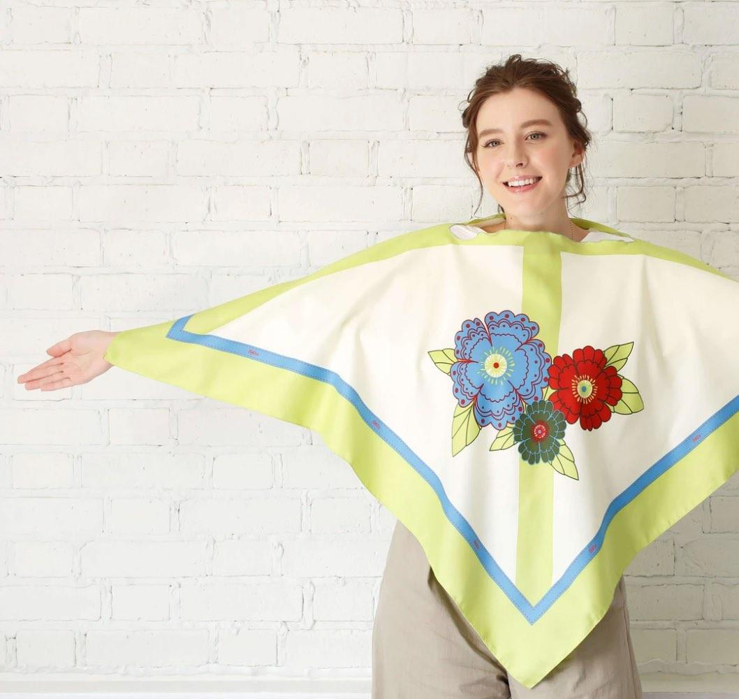 betta 授乳スカーフサイズ感