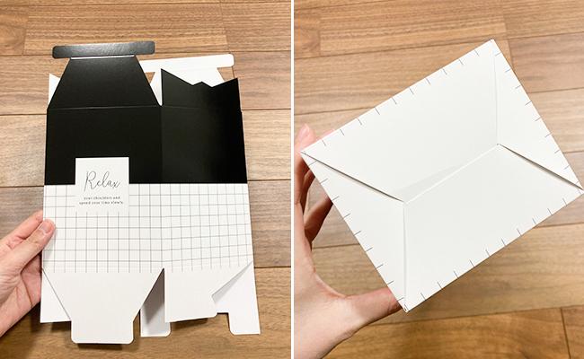 ダイソー 使い捨てサニタリーボックス  新デザイン