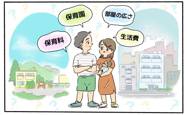 田舎に移住を考える夫婦