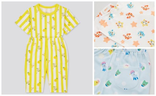 【ユニクロ】完売前にゲット!今年もEテレキッズキャラクターたちのパジャマが4月下旬に登場!