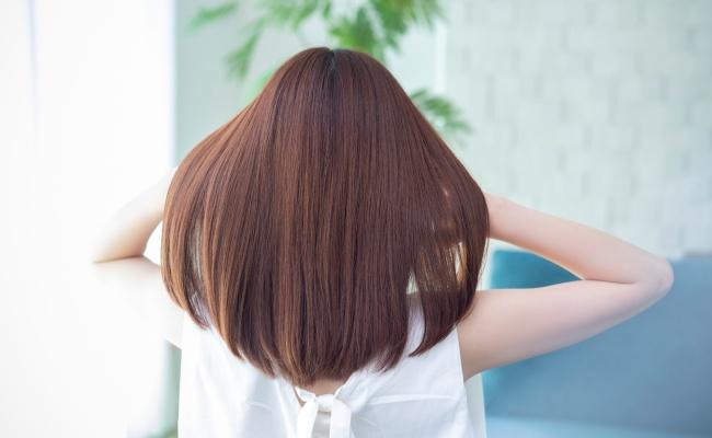 まとまる髪