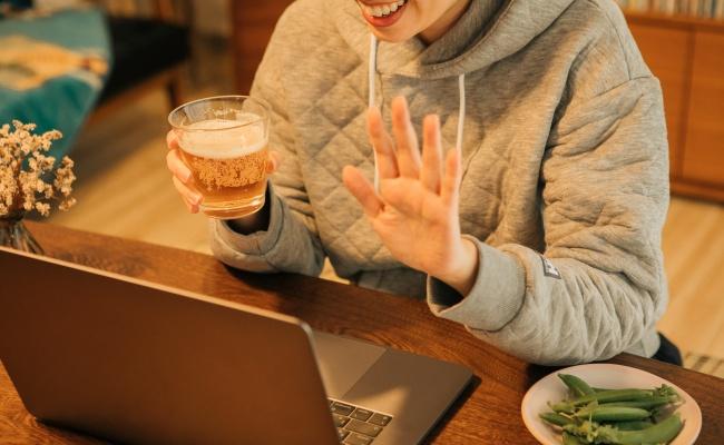 オンライン飲み