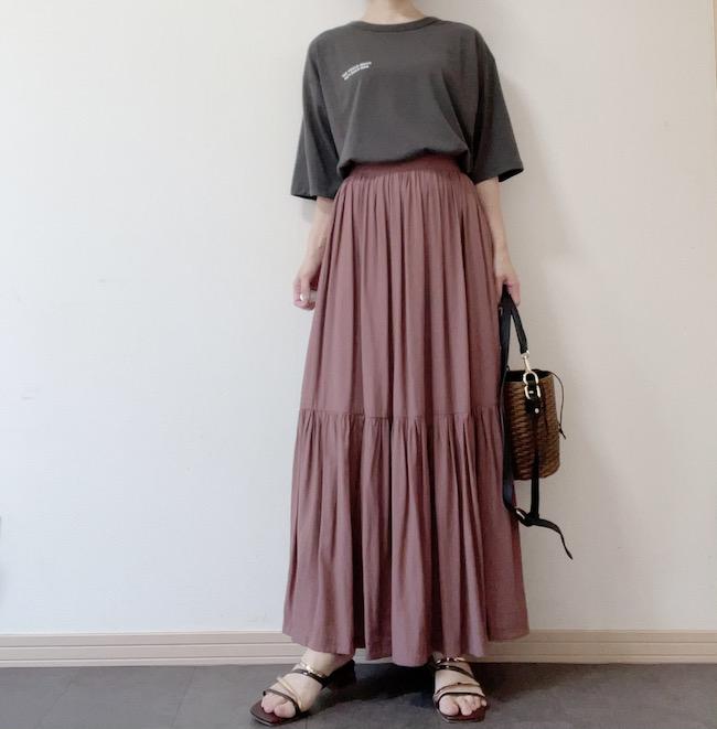 激安Tシャツコーデ②